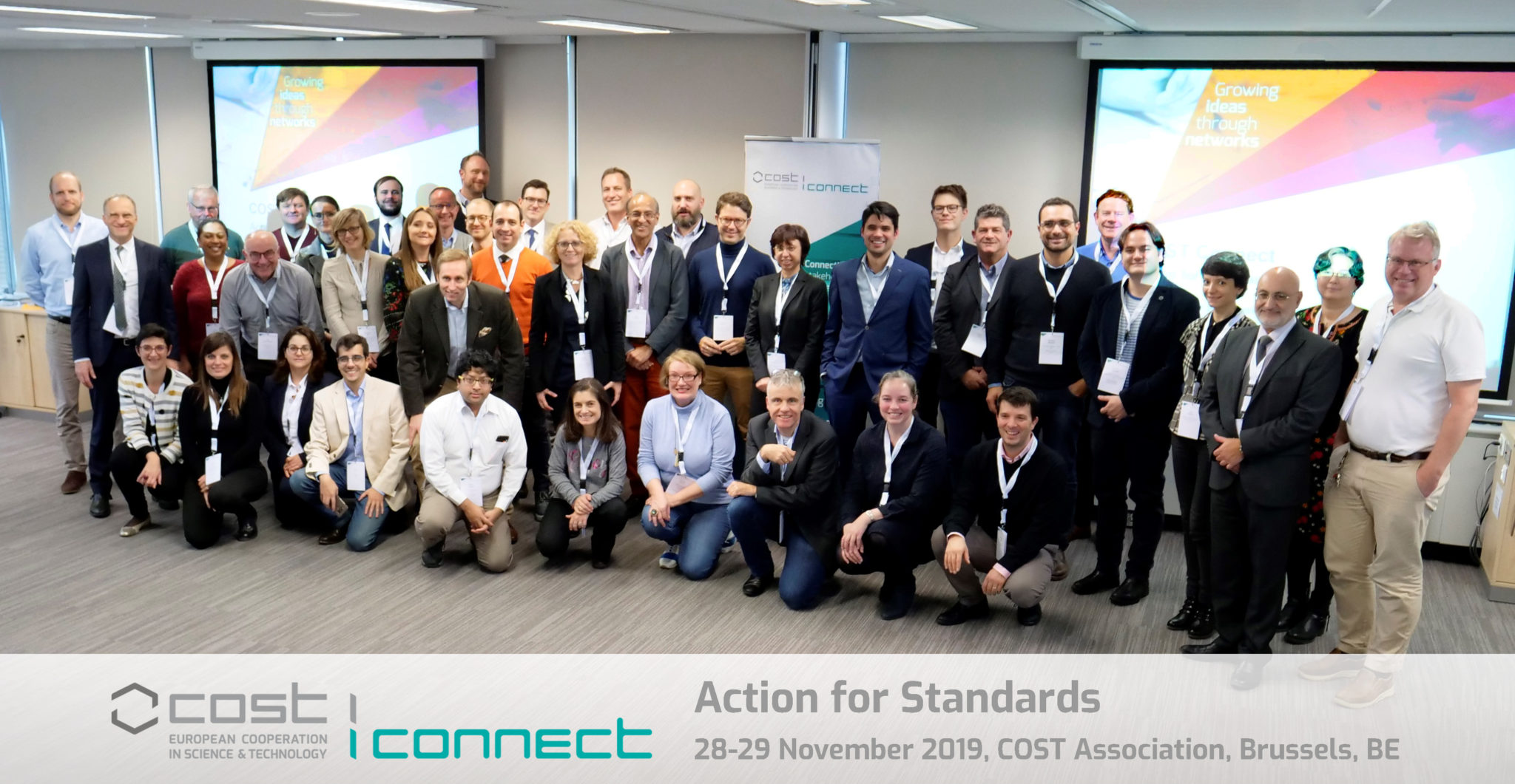 Standards make the world go round COST connect action for standards
