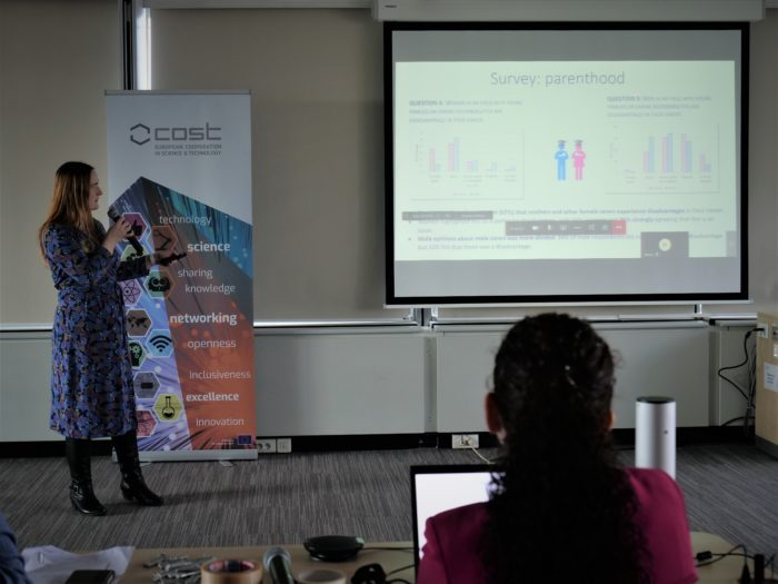 Prof. Ruth Oulton presents at Women in Quantum