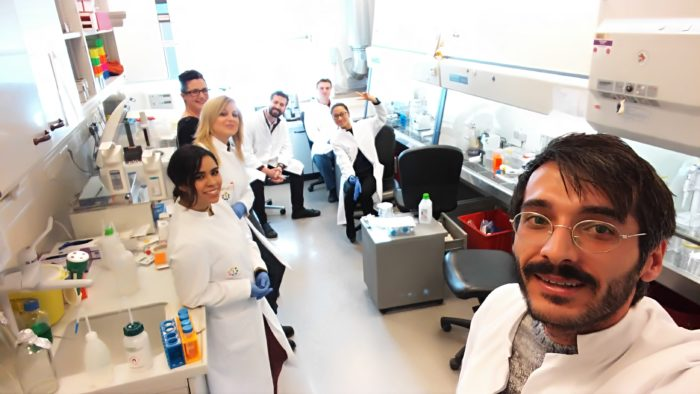 mye-euniter researchers working on myeloid