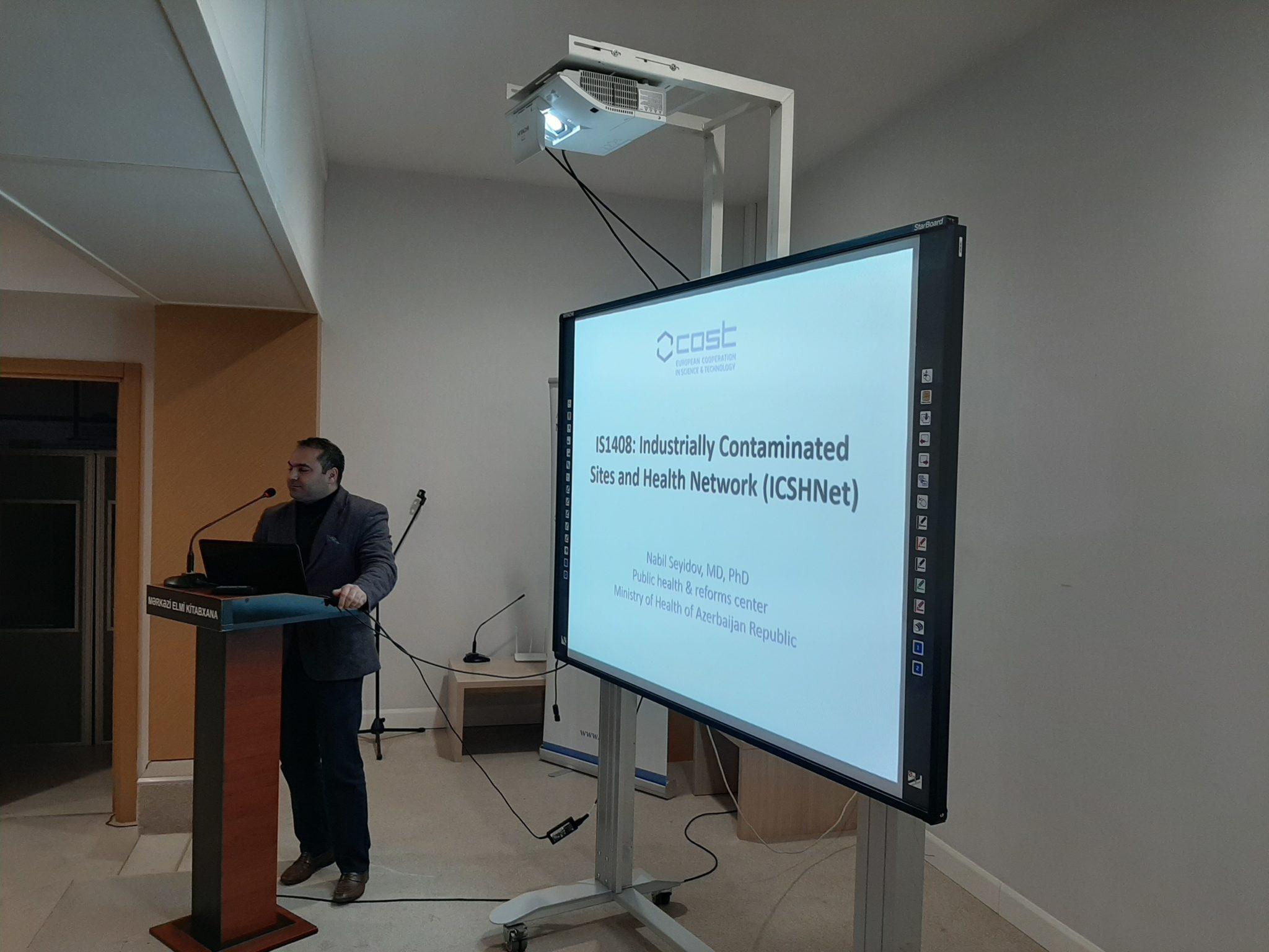 COST awareness day Azerbaijan Nabil Seyidov