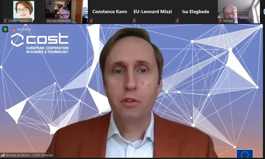 Ronald de Bruin presents EU Africa